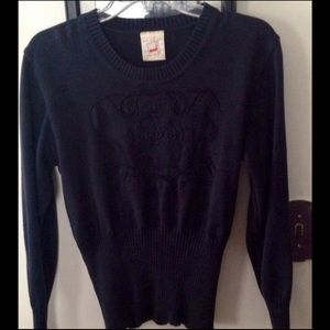 Mondi Cotton Navy Sweater
